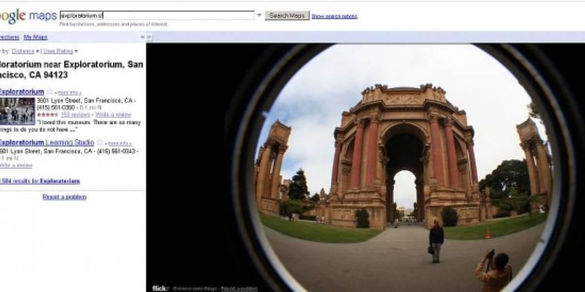 Google Maps ahora muestra fotos de Flickr