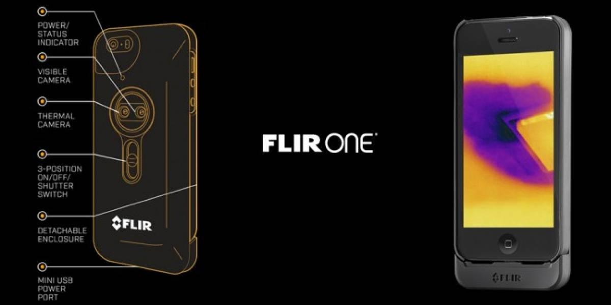 FLIR One permite transformar tu iPhone en una cámara térmica