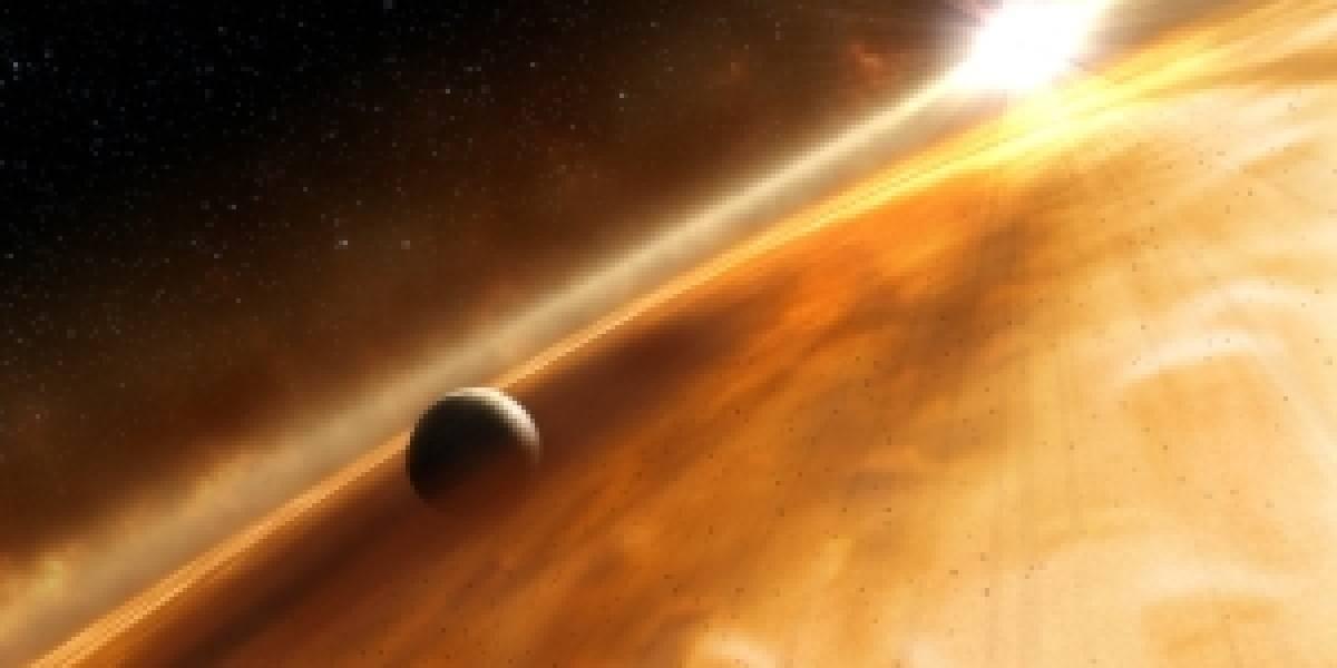 Encuentran planeta cuya órbita va en sentido contrario a la de su estrella