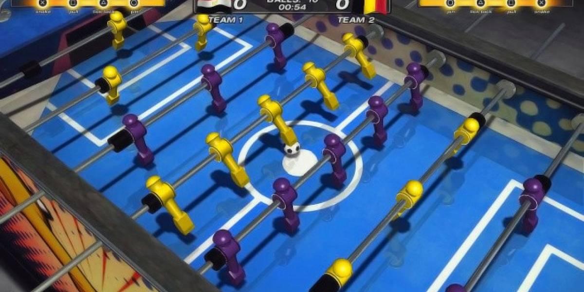 Así se juega Foosball 2012 con PlayStation Move