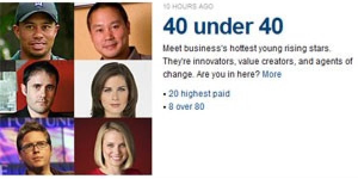 Ranking de jóvenes exitosos está dominado por emprendedores web