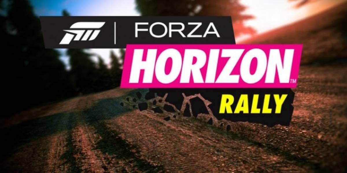 Forza Horizon también tendrá Rally, llegará en diciembre