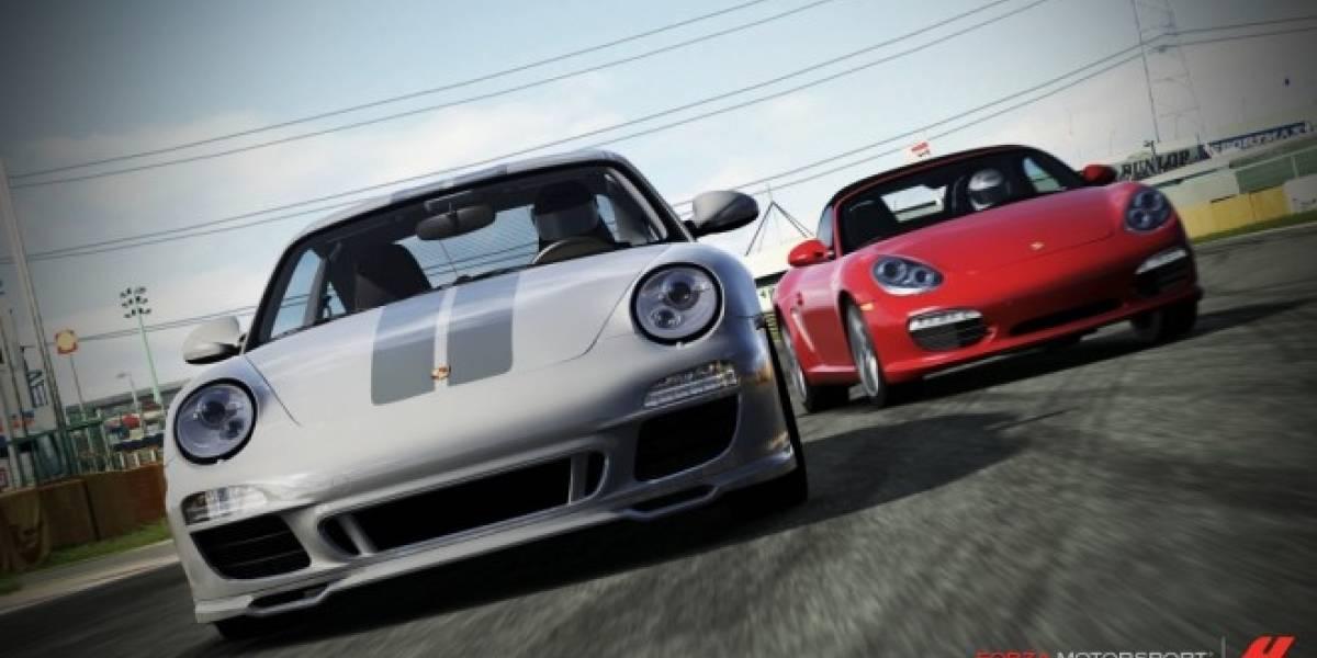 Ya está disponible el paquete de autos Porsche para Forza Motorsport 4