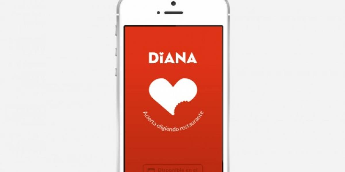 Diana permite buscar restaurantes según tu gusto
