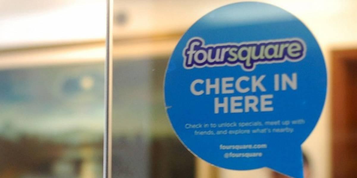 Foursquare implementa publicidad que aparece después de hacer check-in