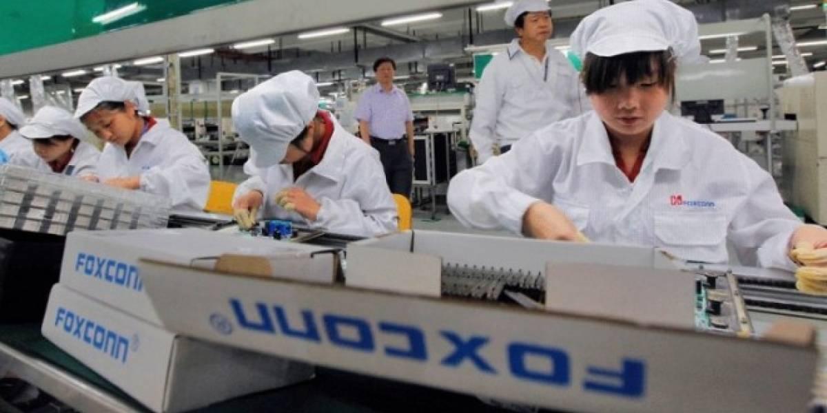 Foxconn está fabricando 500.000 unidades del iPhone 5S a diario