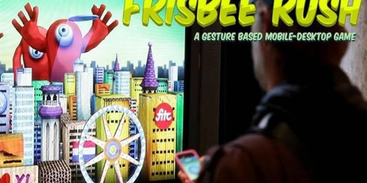 Juega al frisbee con tu smartphone en tu PC: Frisbee Rush