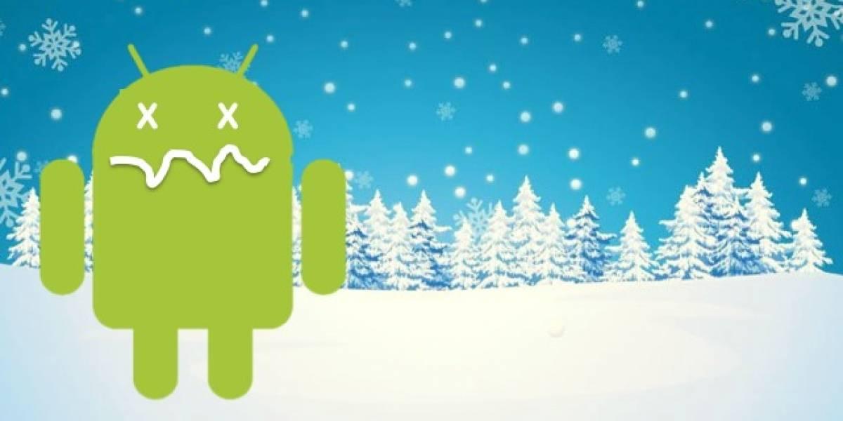 Android, el sistema operativo vulnerable en el congelador