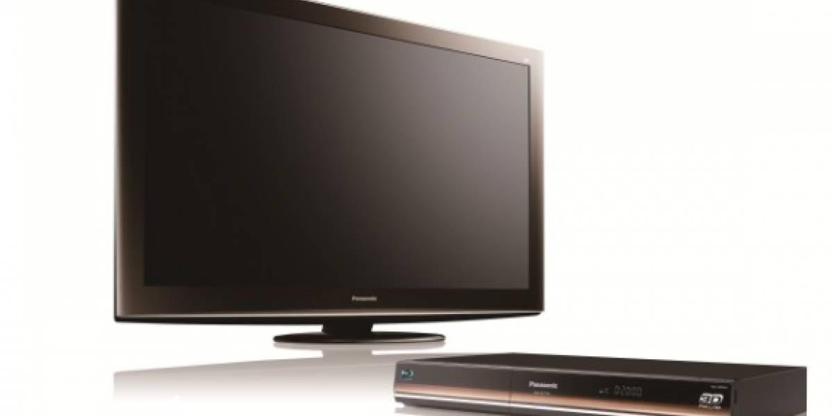 """CES10: Televisor 3D Panasonic de 152"""" es 4x Full HD"""