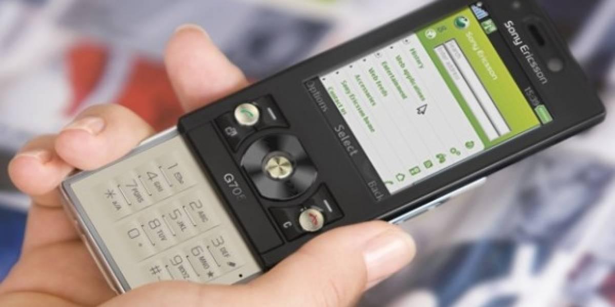 Sony Ericsson lanza el G705