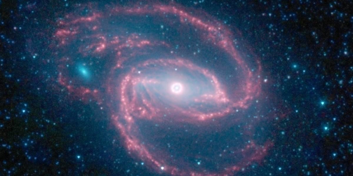 Imperdible: Espectacular galaxia fotografiada por el Spitzer
