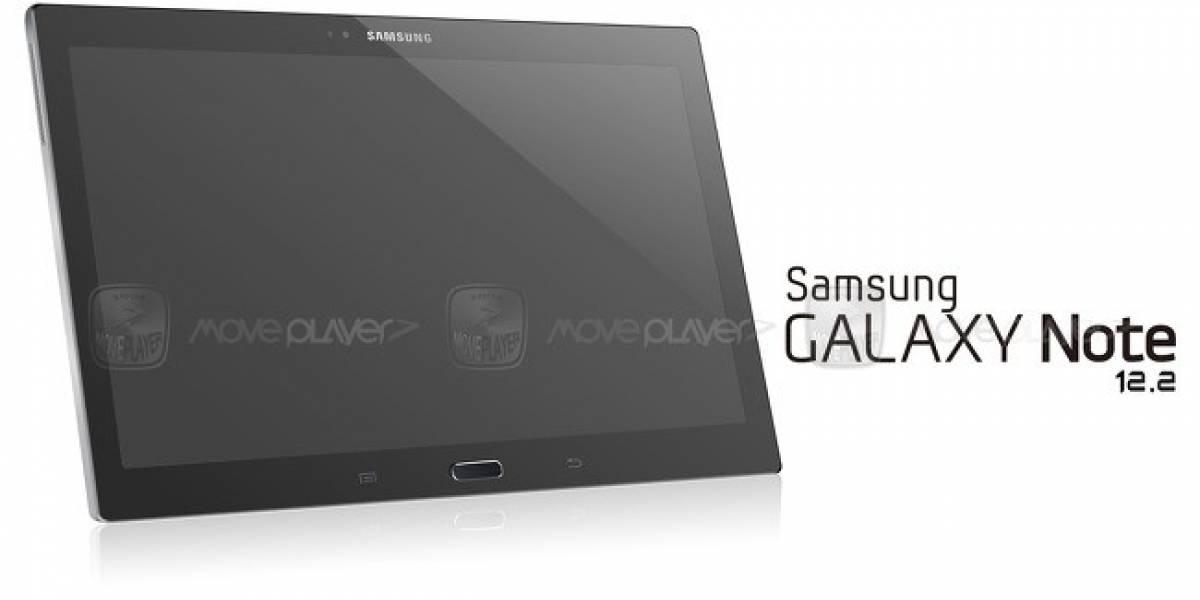 ¿Será así el nuevo Galaxy Note 12.2?