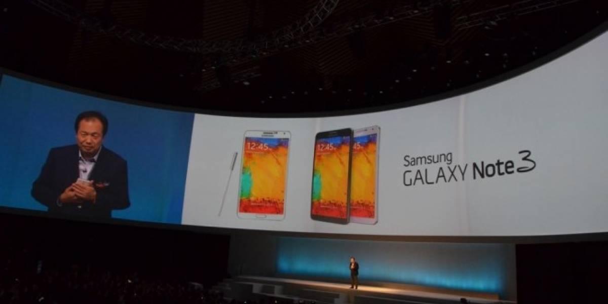 Samsung moviliza 10 millones de Galaxy Note 3 en 2 meses