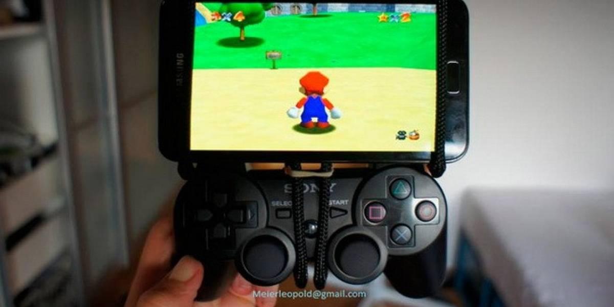 Jugando a la Nintendo 64 en nuestro móvil... ¡con control de PlayStation 3!