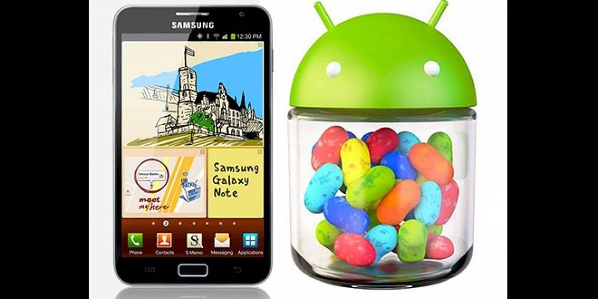 Samsung UK publica el manual de instrucciones basado en Jelly Bean para el Galaxy Note