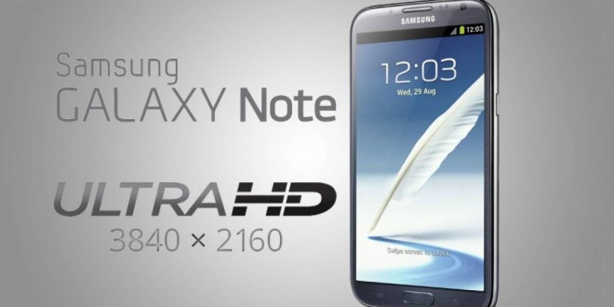 Aseguran que el Samsung Galaxy Note 3 podrá grabar video en Ultra HD