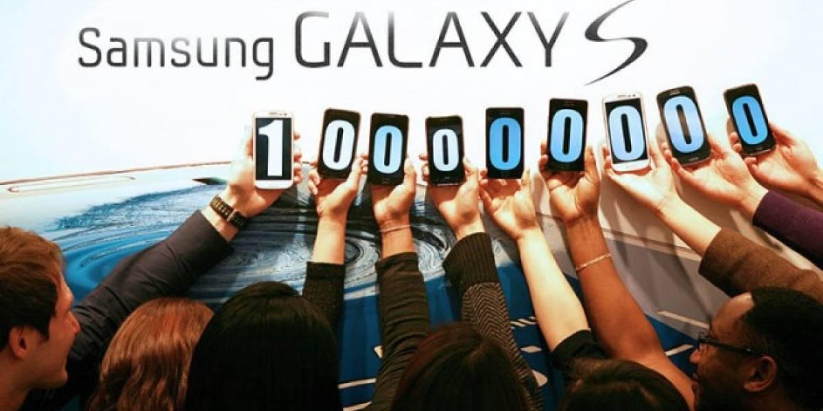 Samsung ha despachado 100 millones de Galaxy S