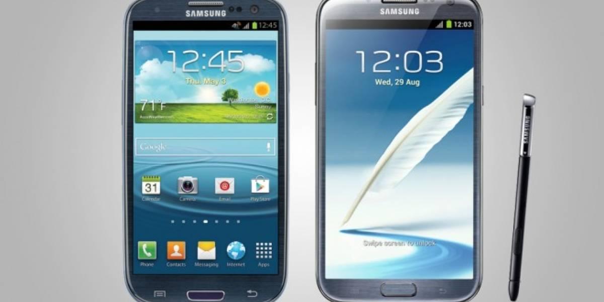 Samsung nuevamente retrasa la actualización a Android 4.2.2 para el Galaxy S3 y Note 2