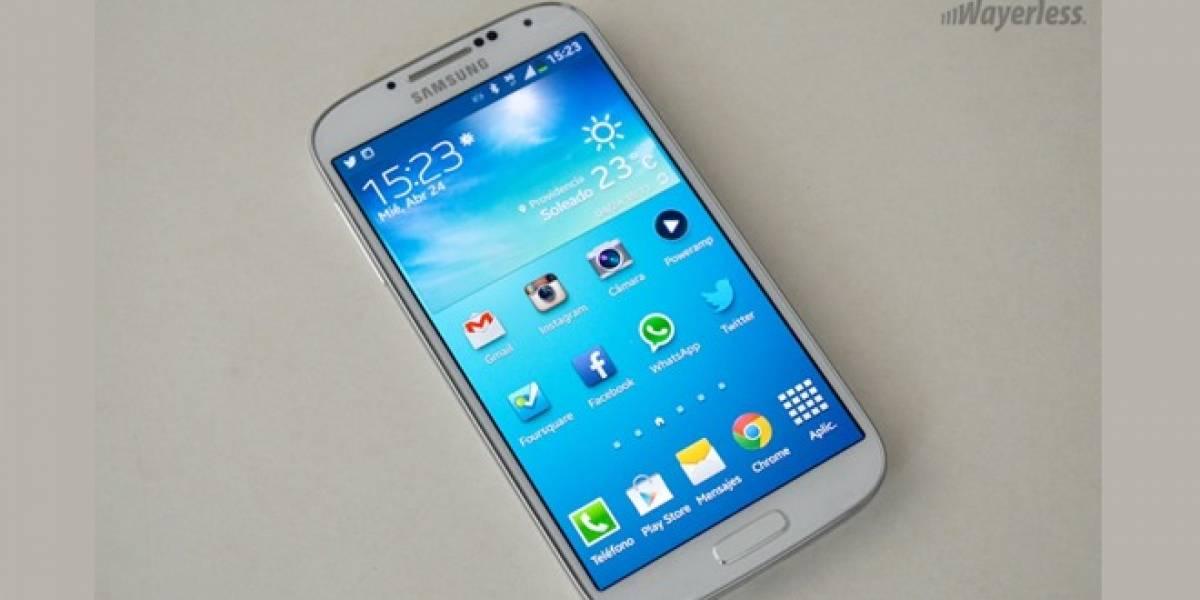 Samsung lanza actualización para el Galaxy S4 con importantes mejoras y correcciones