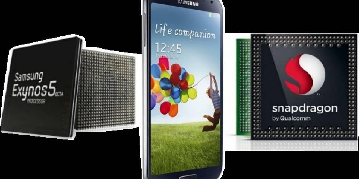 Galaxy S4: ¿Versión Exynos o Snapdragon? Entérate de las diferencias
