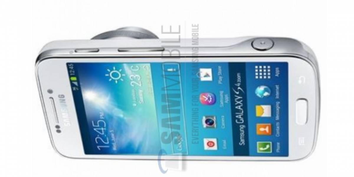 Así luce el Galaxy S4 Zoom, el híbrido de cámara y móvil de Samsung