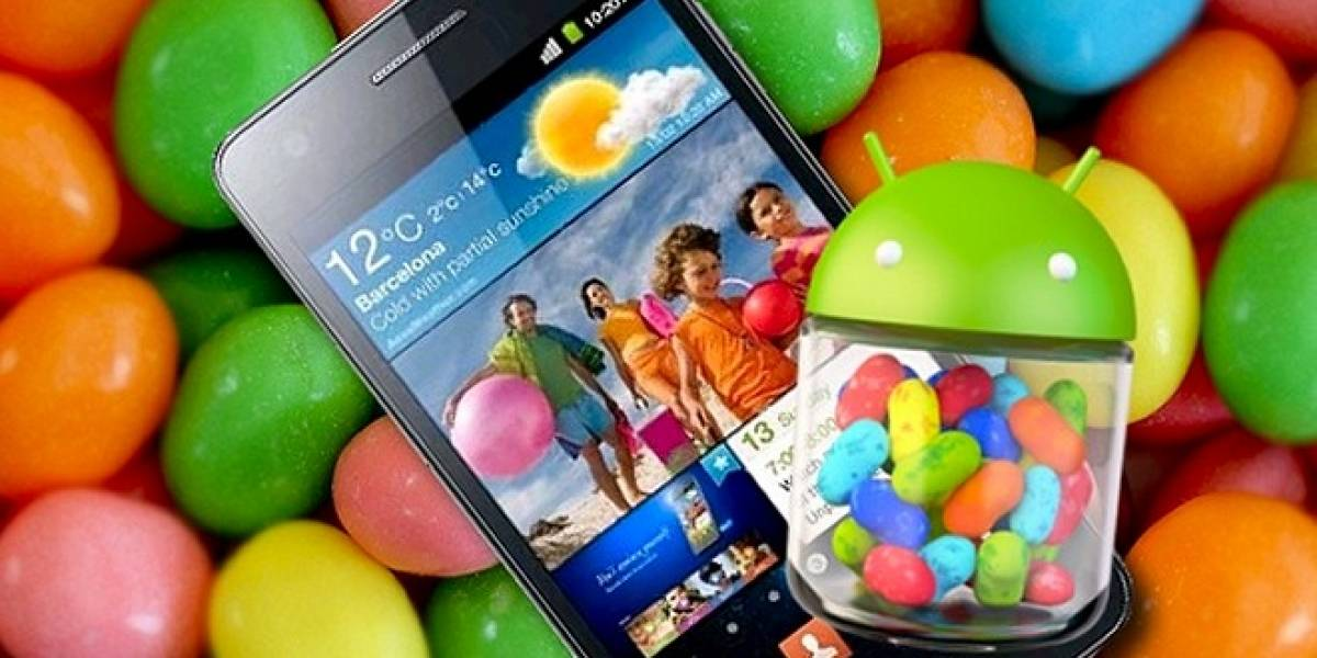 Actualiza tu Samsung Galaxy SII (GT-I9100) a Android 4.1.2 Jelly Bean (W Tip)