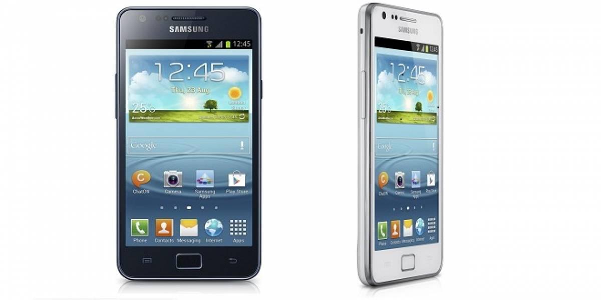 Samsung presenta el Galaxy SII Plus con Android 4.1.2 Jelly Bean