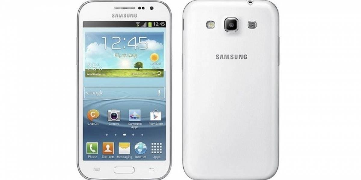 Samsung presenta un nuevo gama media, Galaxy Win
