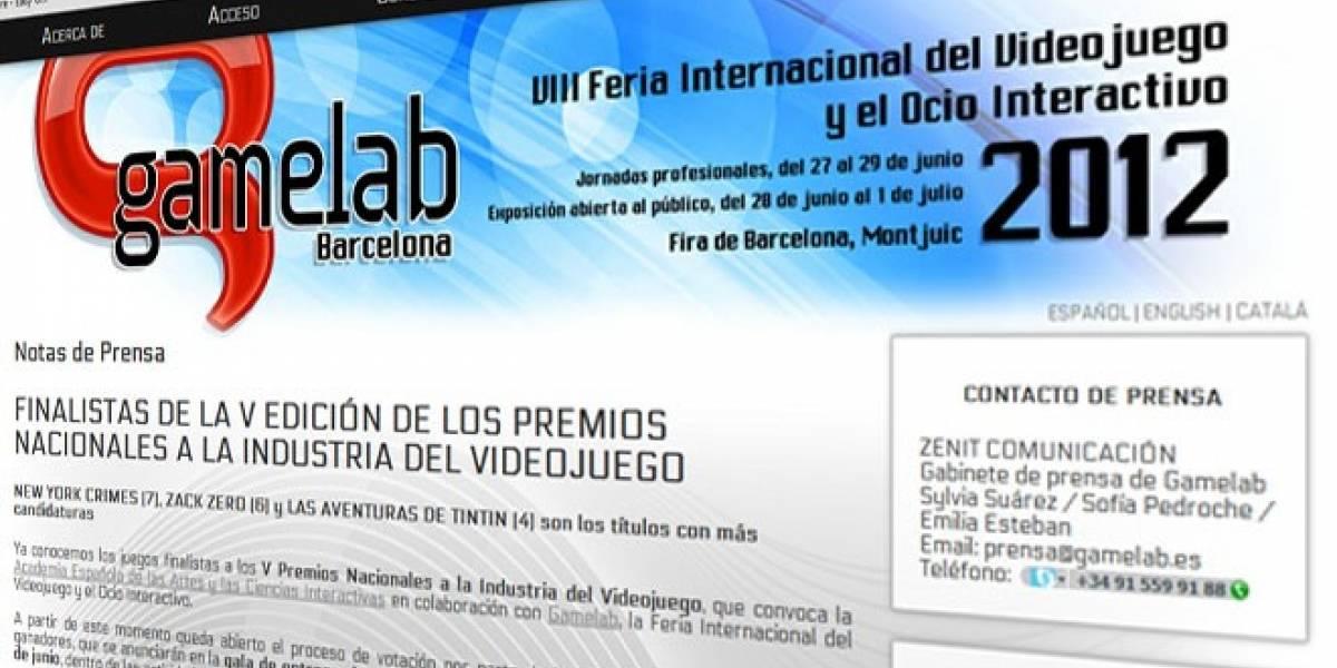 España: Finalistas para los V Premios Nacionales a la Industria del Videojuego
