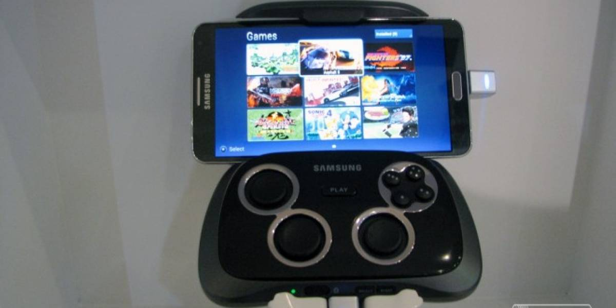 Samsung Game Pad a primera vista