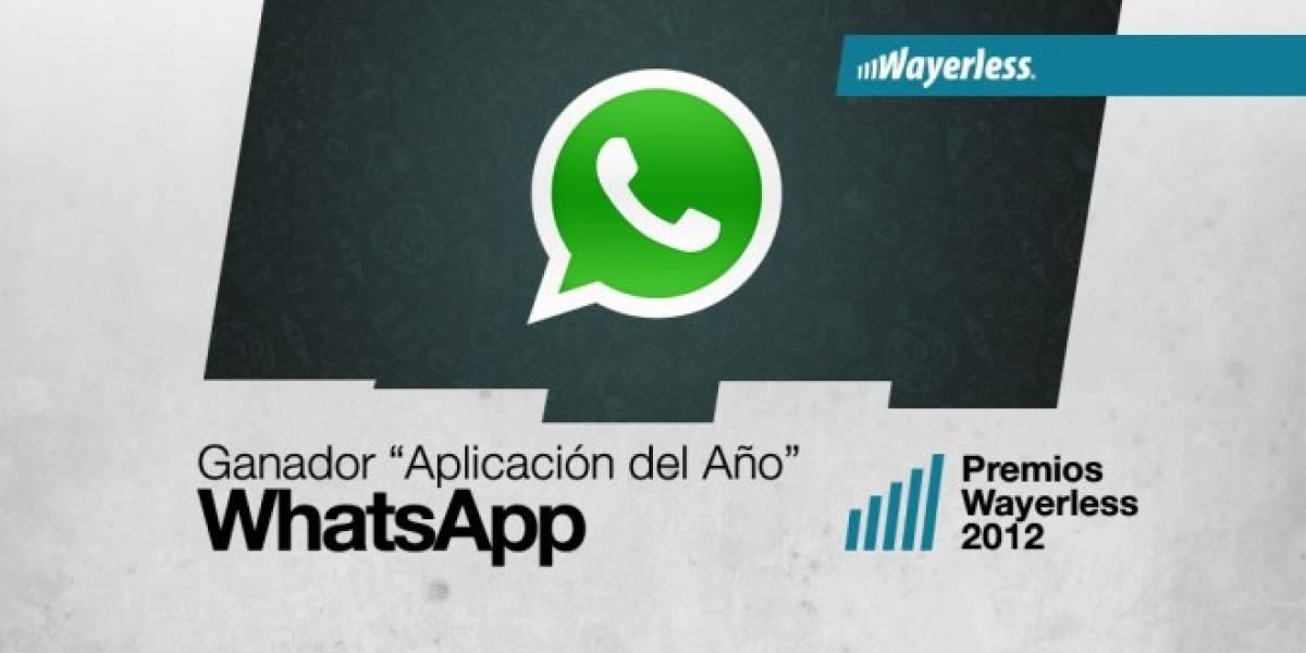 WhatsApp es la Aplicación del Año 2012 [WL aWards]