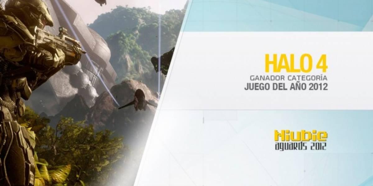 Niubie Aguards: Halo 4 es el Juego del Año 2012