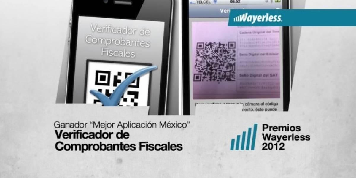 El Verificador de Comprobantes Fiscales es la Mejor Aplicación México 2012 [WL aWards]