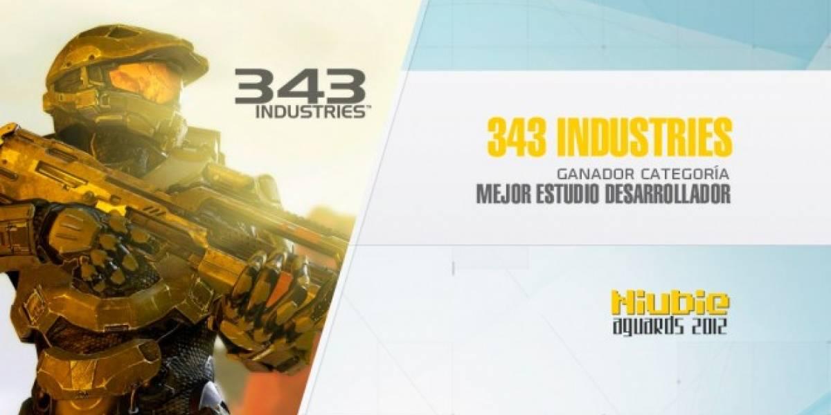 Niubie Aguards: 343 Industries es el Mejor Estudio Desarrollador de 2012