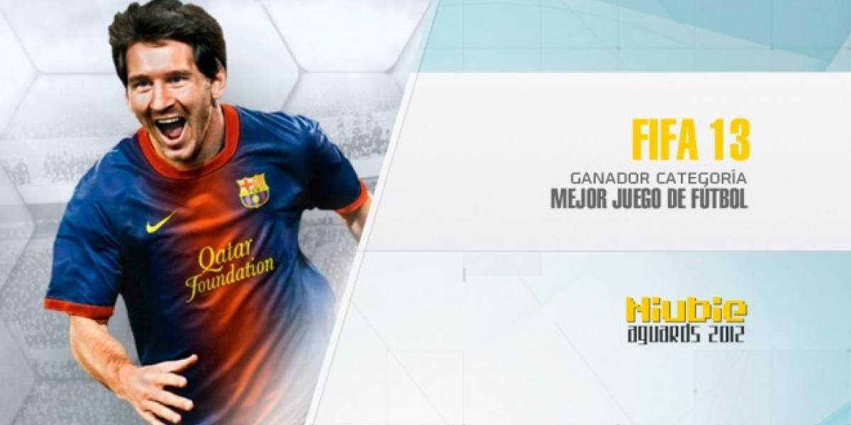 Niubie Aguards: FIFA 13 es el Mejor Juego de Fútbol de 2012