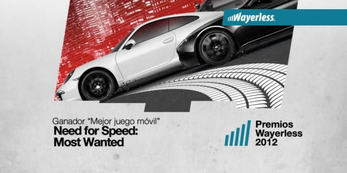 Need For Speed Most Wanted es el Mejor Juego Móvil 2012 [WL aWards]
