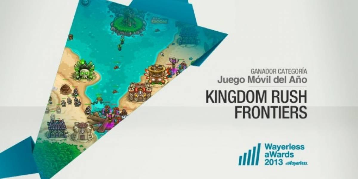 Kingdom Rush Frontiers es el Juego Móvil del Año 2013 [W aWards]