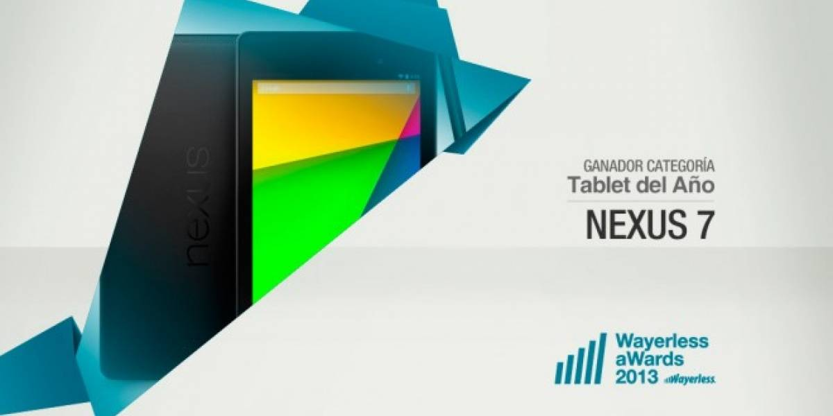Nexus 7 es el Tablet del Año 2013 [W aWards]