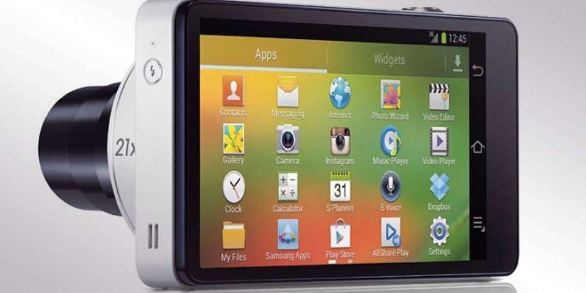 En un principio Android estaba destinado sólo a cámaras inteligentes