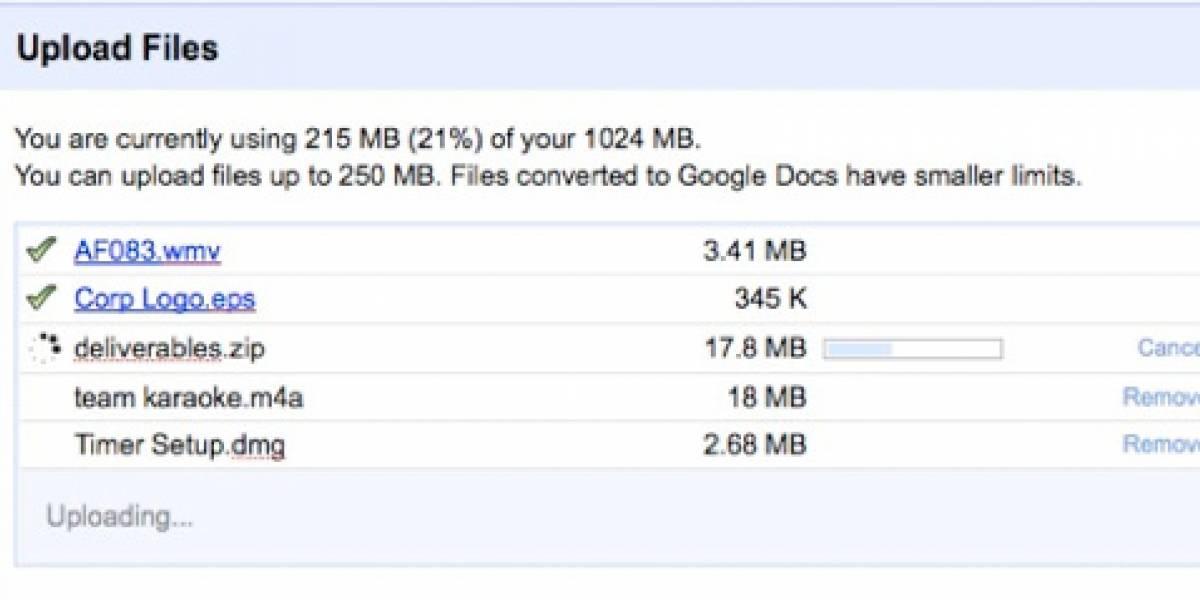 Sube el archivo que quieras a Google Docs y descárgalo después