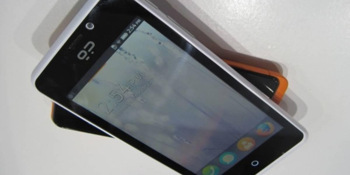GeeksPhone anuncia su nuevo Peak+ con Firefox OS