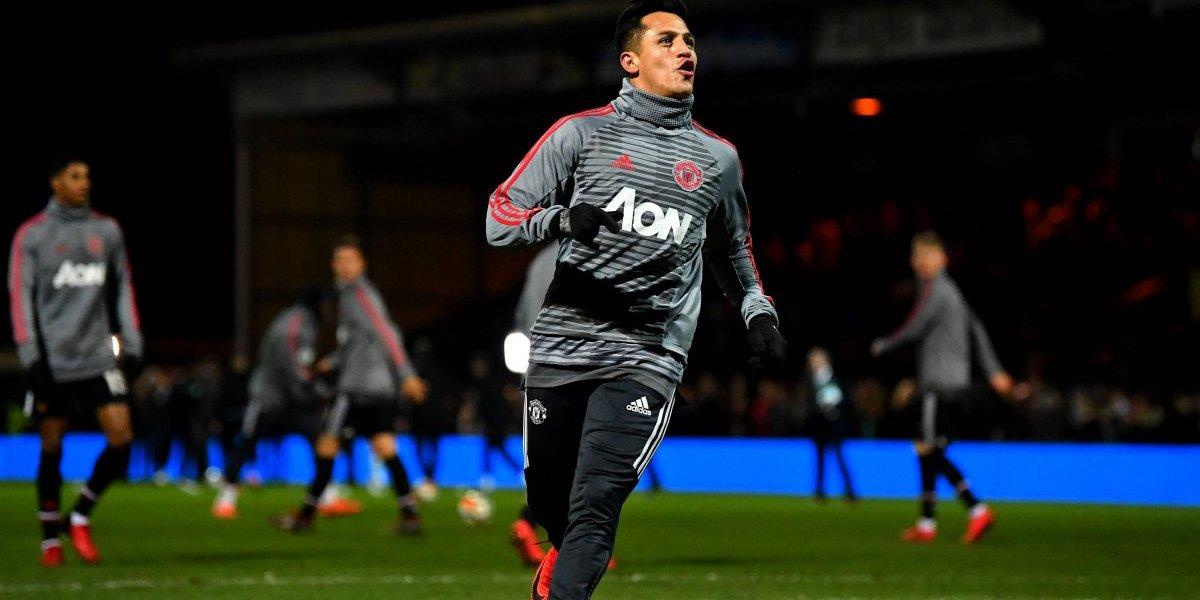 """En el United quedaron encantados con el debut de Alexis: """"Es una verdadera estrella"""""""