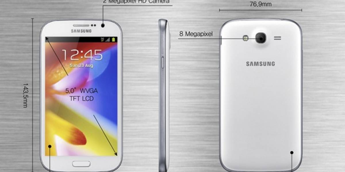Samsung lanza el Galaxy Grand, con Android 4.1.2 y doble SIM