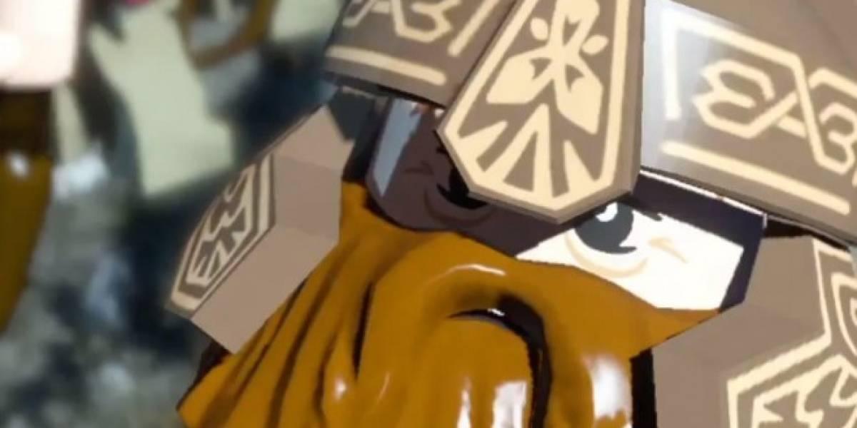 Nuevo video de LEGO Lord of the Rings muestra a sus personajes principales
