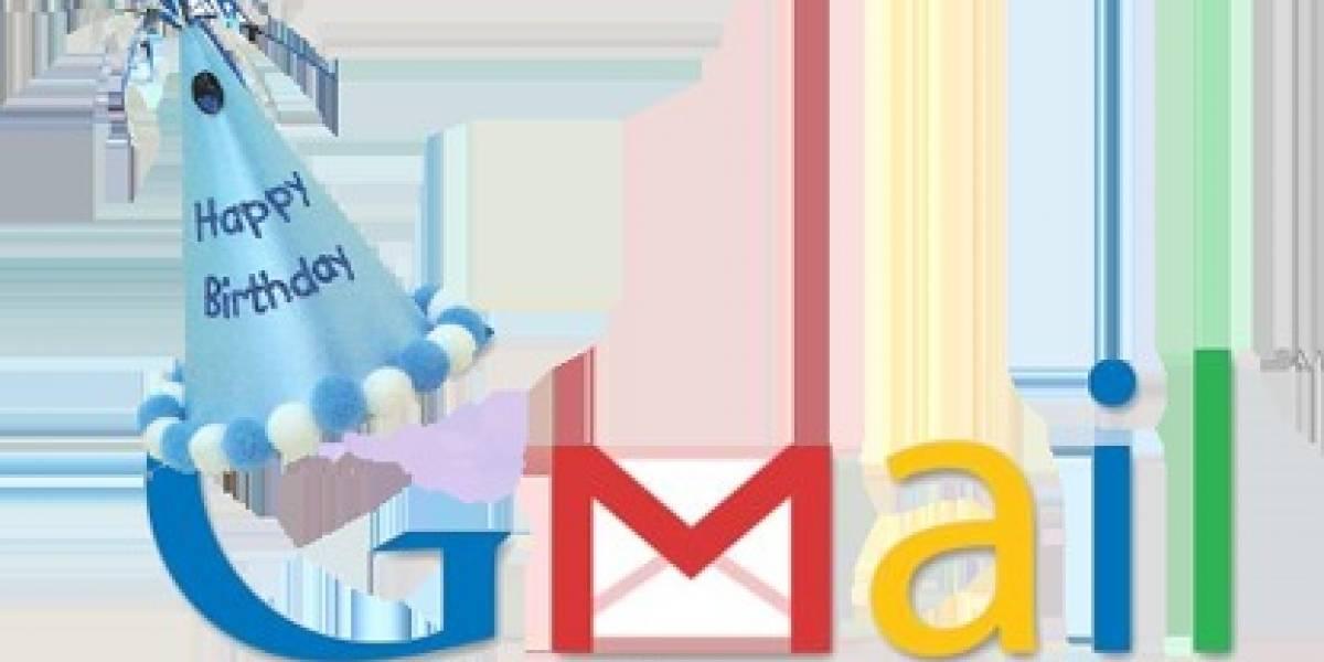 Gmail cumple hoy 6 años de vida