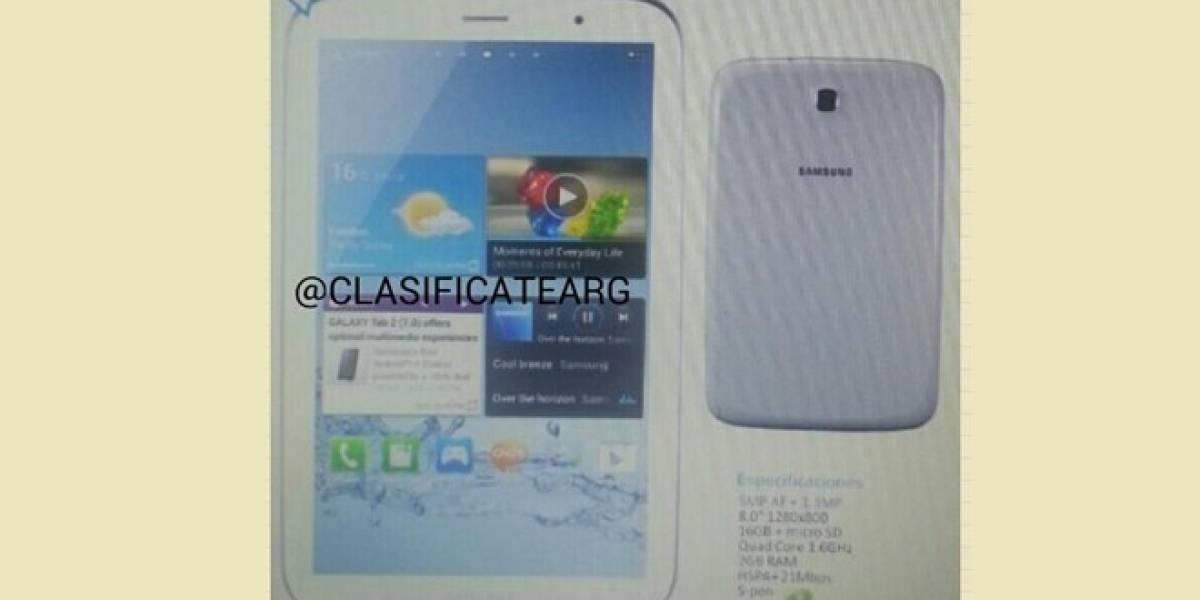¿Acaso así será el Samsung Galaxy Note 8.0?