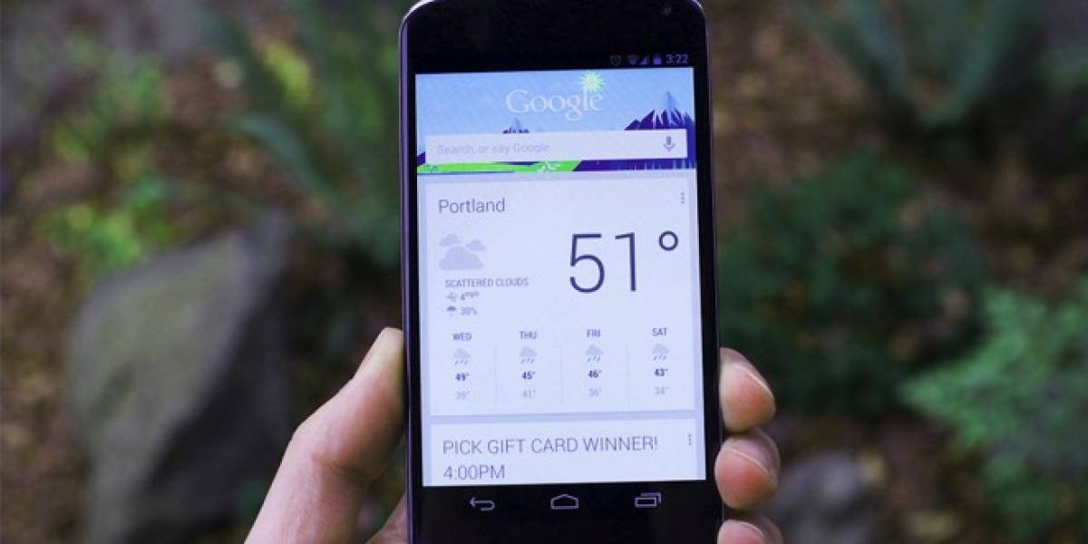 Se filtra posible widget de Google Now