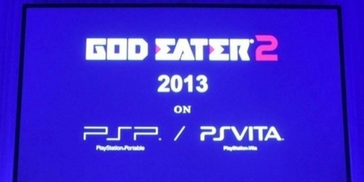 TGS 12: God Eater 2 se lanzará al mismo tiempo para Vita y PSP
