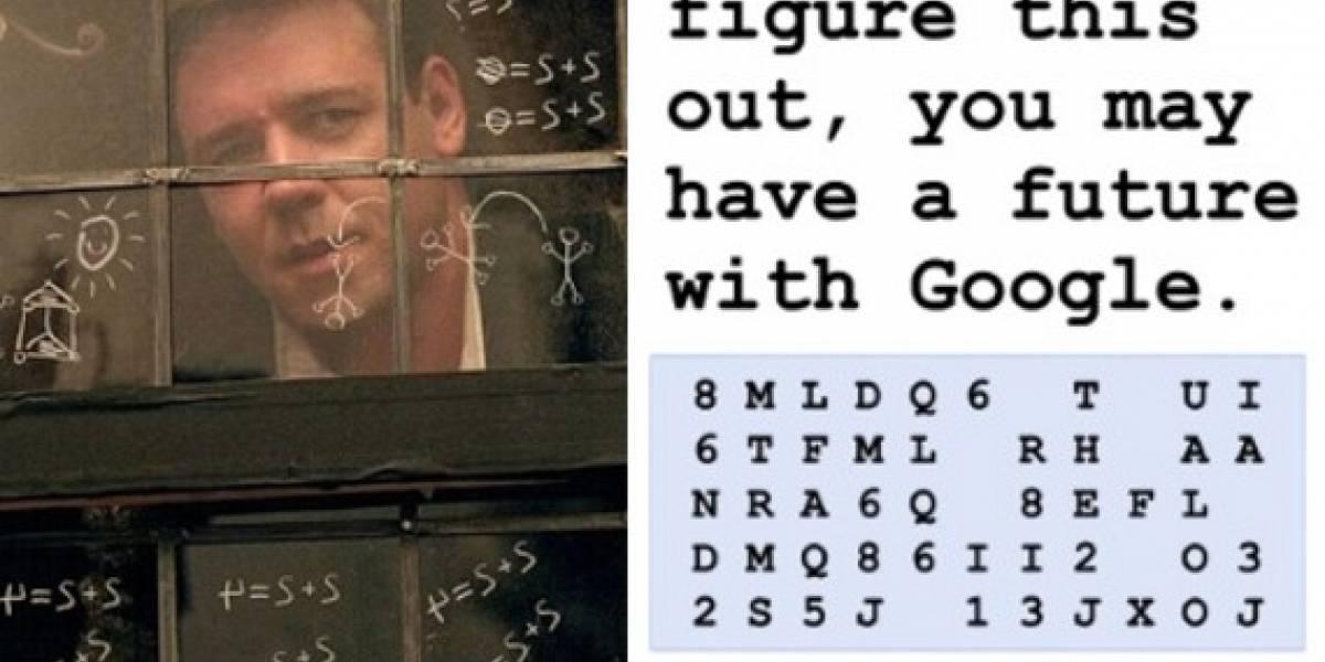 Descifra el código y trabaja para Google