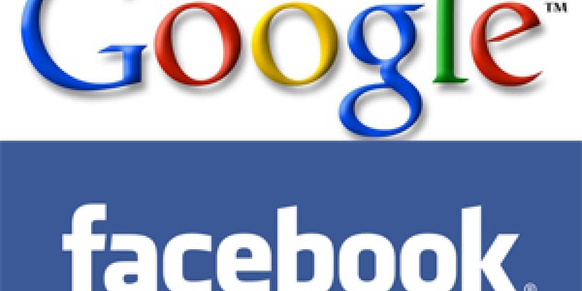 Google comienza a indexar páginas de Facebook